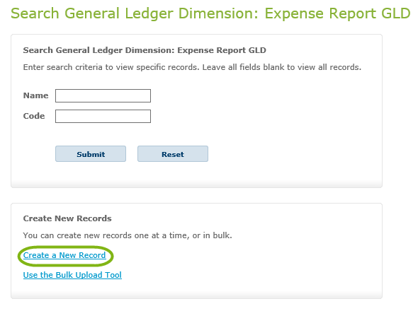 Expense Report General Ledger Dimensions Certify Customer Support – Blank Expense Report